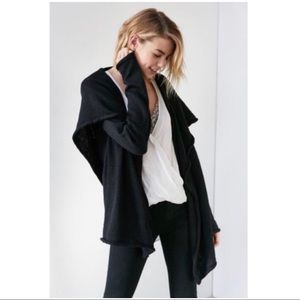 Urban Outfitters Hooded Cardigan NWT black xs